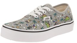 Vans Kids Authentic (dino Party Train) Skate Shoe.