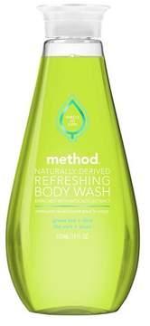 Method Green Tea Aloe Refreshing Body Wash - 18 oz