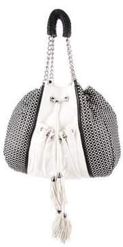 Zac Posen Bicolor Leather Bag