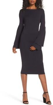 Chelsea28 Women's Bell Sleeve Sweater Dress