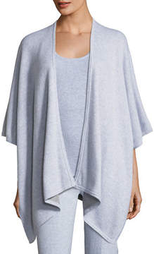 Neiman Marcus Two-Tone Shawl Wrap