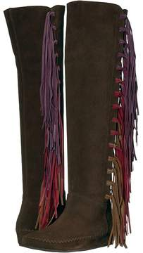 Etro Tall Fringe Boot Women's Boots