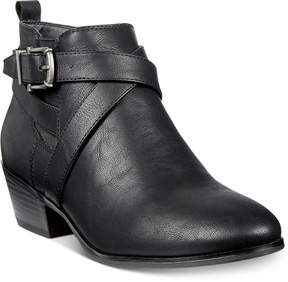 Style&Co. Style & Co Harperr Strappy Booties, Created for Macy's Women's Shoes