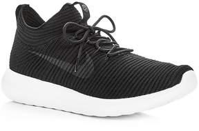 Nike Women's Roshe Two Flyknit Lace Up Sneakers