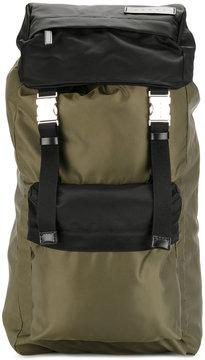 Marni bi-coloured nylon backpack