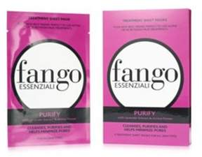 Borghese Fango Essenziali Sheet Mask 4 Pack Sheet Mask Set, Purify.