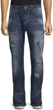 Affliction Men's Blake Rising Distressed Jeans