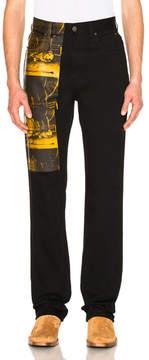 Calvin Klein High Rise Straight Pant