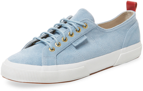 Del Toro Men's Suede Low Top Sneaker
