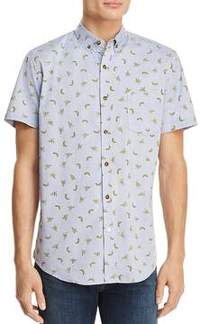 Sovereign Code Crystal Cove Short Sleeve Button-Down Shirt