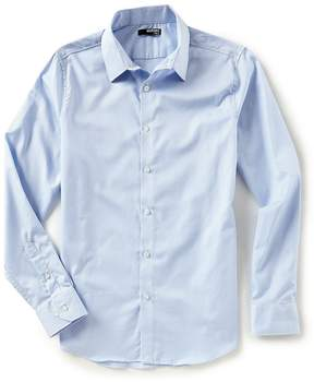 Murano Slim-Fit Dobby Long-Sleeve Woven Shirt