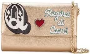 Dolce & Gabbana Queen of Hearts wallet shoulder bag