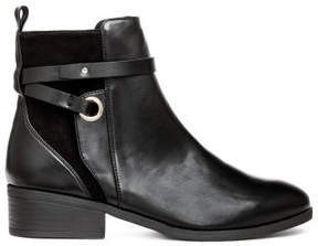 H&M Boots with straps - Black