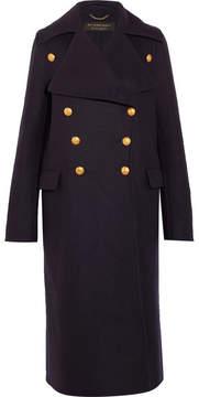 Burberry Wool-felt Coat - Navy