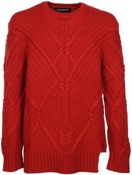 Neil Barrett Oversized Textured Sweater
