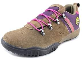 Khombu Maura Women Round Toe Suede Hiking Shoe.