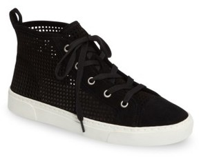 1 STATE Women's 1.state Dulcia Perforated High-Top Sneaker