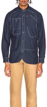 Junya Watanabe Cotton Denim Shirt