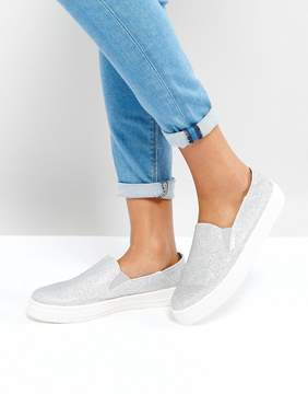 Asos DAMON Glitter Sneakers