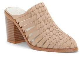 1 STATE 1.STATE Licha Suede Woven Mules