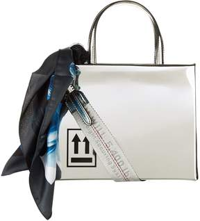 Off-White Off White Mirror Top Handle Bag