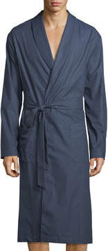 Hanro Henry Dotted Chambray Robe