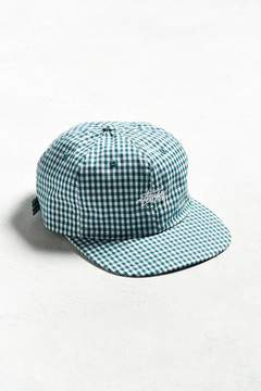 Stussy Gingham Stock Strapback Hat