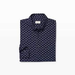Club Monaco Slim Paisley Floral Shirt