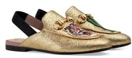 Gucci Princetown Glittery Loafer Mule