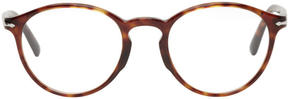 Persol Tortoiseshell Round Glasses