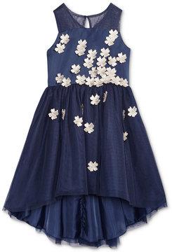 Nanette Lepore Floral Applique Party Dress, Big Girls (7-16)