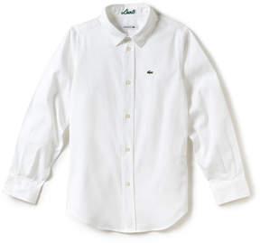 Lacoste Boy's Oxford Cotton Knit Shirt