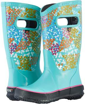 Bogs Rain Boot Footprints Girls Shoes