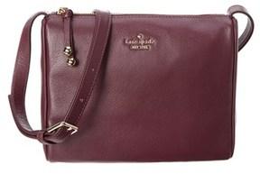 Kate Spade Lombart Street Cayli Leather Crossbody. - PURPLE - STYLE