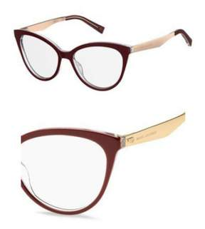 Marc Jacobs Eyeglasses 205 0LHF Opal Burgundy