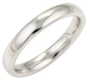 Damiani Noi Due 18K White Gold Wedding Band Ring Size 9
