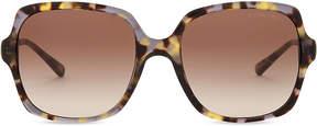 Michael Kors Havana bia square sunglasses