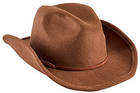 San Diego Hat Company Brown Faux Wool Cowboy Hat