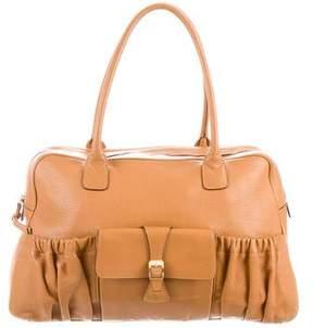 Max Mara Leather Bowler Bag