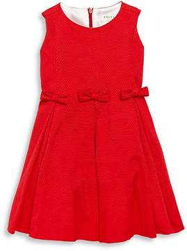 Helena and Harry Little Girl's Pique Holiday Dress