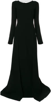Fausto Puglisi laced back gown