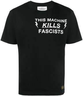 Neighborhood This Machine Kills fascists t shirt