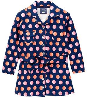 Toobydoo Juicy Dots Shirt Dress (Toddler, Little Girls, & Big Girls)
