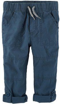 Osh Kosh Boys 4-12 Convertible Roll Tab Pants