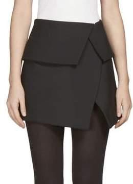 Balmain Asymmetrical Mini Skirt