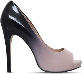 Carvela Alberta patent leather ombré courts
