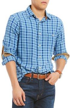 Daniel Cremieux Plaid Vintage Twill Long-Sleeve Woven Shirt