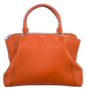 Cartier Small Leather C De Bag