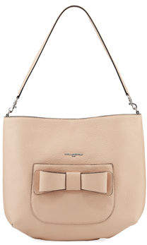 Karl Lagerfeld Paris Bobbi Pebbled Hobo Bag