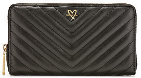 Victoria's Secret Victorias Secret V-Quilt Zip Wallet